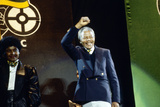 Nelson Mandela, London 1990 Photographic Print