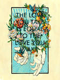 To Love Giclee Print by Jacqui Oakley