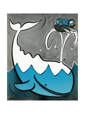 Moby Dick - Child Life Giclee Print by  Keller