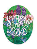 Spread the Love Giclee Print by  Zack Davenport & Emily Daingerfield