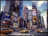 Times Square, New York City, USA Framed Canvas Print by Doug Pearson