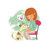 Wolfie - Playmate Giclee Print by Elisa Chavarri