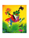 Frog Frolic - Playmate Giclee Print by William McLauchlan