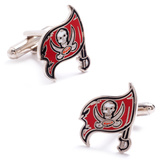 Tampa Bay Buccaneers Cufflinks Novelty