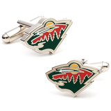 Minnesota Wild Cufflinks Novelty