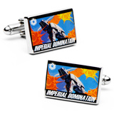 Star Wars Imperial Domination Propaganda Poster Cufflinks Novelty