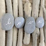 Love en piedras Láminas por  Chatelain
