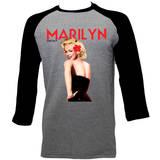 Marilyn Monroe - Hibiscus (raglan) T-Shirt