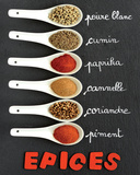Spice Cook Prints by  Chatelain