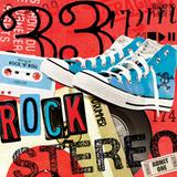 Rock en Stéréo Affiches par  Blonde Attitude