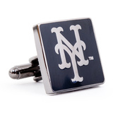 New York Mets Black Series Cufflinks Novelty