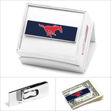 SMU Mustangs Money Clip Novelty