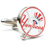 Yankees Baseball Cufflinks Novelty