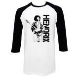 Jimi Hendrix - Cameo (raglan) T-shirts
