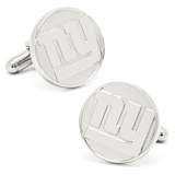 NY Giants Silver Edition Cufflinks Novelty