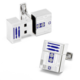 R2D2 (4GB) USB Cufflinks Novelty