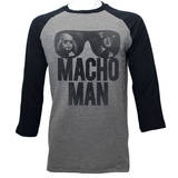 Macho Man - Machoooo (raglan) T-Shirt