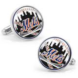 New York Mets Baseball Cufflinks Novelty