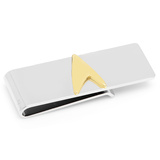 Star Trek Two Tone Delta Shield Money Clip Novelty