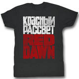 Red Dawn - No Russian T-shirts