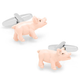 Mise en Place Pig Cufflinks Novelty
