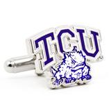 TCU Horned Frog Cufflinks Novelty