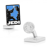 Jedi Pop Art Poster Cufflinks Novelty