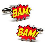 BAM! Cufflinks Novelty