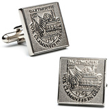Dartmouth College Silver Edition Cufflinks Novelty