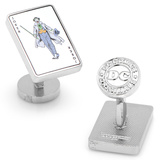 Joker Card Cufflinks Novelty