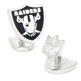 Palladium Oakland Raiders Cufflinks Novelty