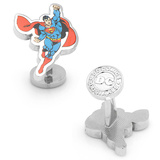 Flying Superman Cufflinks Novelty