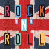 Rock'n Roll British Print by Blonde Attitude