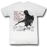 Platoon - When I Die T-shirts