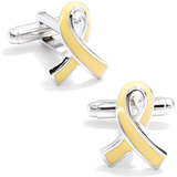 Support Our Troops Ribbon Cufflinks Novelty