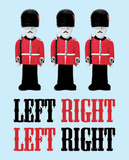 Left Right Poster par  Blonde Attitude