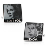 I Love You I Know Cufflinks Novelty