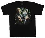 The Three Stooges - Three Stooges Moon T-Shirt