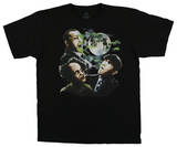 The Three Stooges - Three Stooges Moon T-Shirt