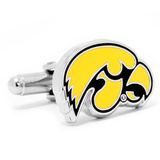 University of Iowa Hawkeyes Cufflinks Novelty