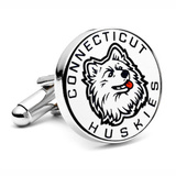 University of Connecticut Huskies Cufflinks Novelty