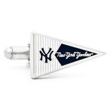 New York Yankees Pennant Cufflinks Novelty
