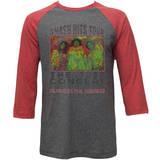 Jimi Hendrix - Old Poster (raglan) Vêtements
