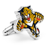 Florida Panthers Cufflinks Novelty