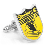 Vintage Pittsburgh Steelers Cufflinks Novelty