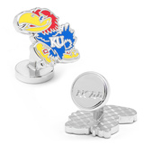 Palladium Kansas University Jayhawks Cufflinks Novelty