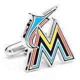 Miami Marlins Cufflinks Novelty