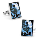 Star Wars Fear Propaganda Poster Cufflinks Novelty
