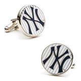 Yankees Pinstripe Cufflinks Novelty