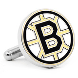 Boston Bruins Cufflinks Novelty